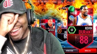 Download 48 HOUR DURANT & TEAM OF THE WEEK PACK OPENING! NBA Live Mobile 16 Gameplay Ep. 37 Video