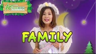 Download Bé học Tiếng Anh về GIA ĐÌNH qua thẻ tiếng anh MA THUẬT - Magic English Flashcard Family Video