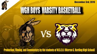 Download WGH Varsity Boys Basketball vs. Cleveland Heights (12/03/19) Video