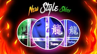 Download Mega Pack de Skins Editables Nuevos Estilos //Hariuss y Wezzion// Para ogario- alis.io-dual agar Video
