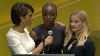 Download Reese Witherspoon and Danai Gurira on International Women's Day 2018 Video