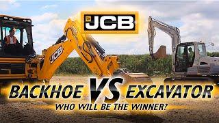 Download Backhoe vs Excavator Video