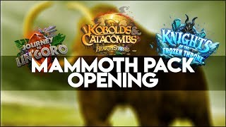 Download Hearthstone Year of the Mammoth Pack Info + 30 Pack Opening Video