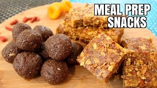 Download How to Meal Prep - Ep. 11 - 2 SNACKS Video