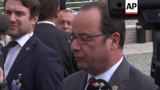 Download Hollande: Trump encouraging populism Video