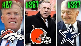 Download Ranking all 32 NFL GMs of 2019 from WORST to FIRST Video