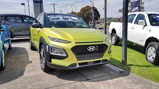 Download Hyundai Kona 2018 In depth Tour Interior and Exterior Video