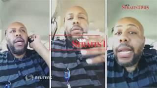 Download Man livestreams murder on Facebook Video