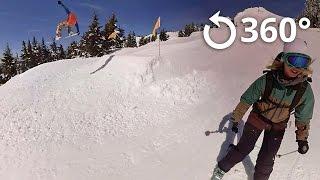 Download Mt Hood Territory snow 360 video Video