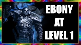 Download Skyrim Special Edition - Get EBONY WEAPONS at LEVEL 1 - Powerful Gear Easy! Video