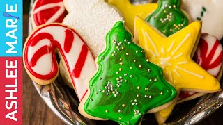 Download How to Make the Perfect Holiday Sugar cookies and Icing - tips for decorating Video