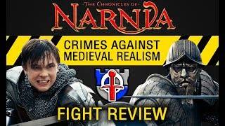 Download Crimes against medieval realism: Narnia, Prince Caspian fight review Video