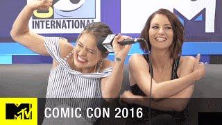 Download Melissa Benoist Sings a Recap of Supergirl Season 1 | Comic Con 2016 | MTV Video