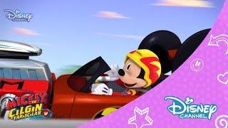 Download Mickey ve Çılgın Yarışçılar - Mickey'nin Kaçak Lastiği (1.Bölüm) Video