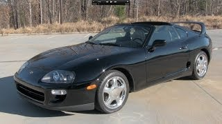 Download 1998 Toyota Supra Turbo 6-spd Start Up, Exhaust, and In Depth Review Video