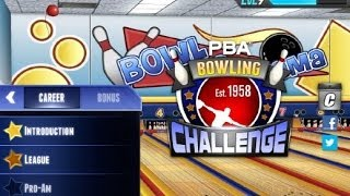 Download PBA Bowling Challenge iPad App Review (Gameplay) (Demo) Video