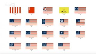 Download The Evolution Of US Flags (In 80 Seconds) Video