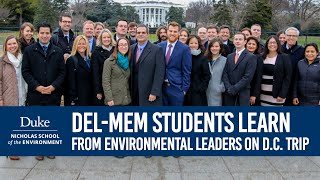 Download DEL-MEM Students Learn from Environmental Leaders on D.C. Trip Video