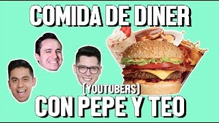 Download COMIDA DE DINER CON PEPE Y TEO - ÑAMÑAM (Episodio 45) Video