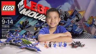 Download BENNY'S SPACESHIP, SPACESHIP, SPACESHIP! - LEGO MOVIE Set 70816 - Time-lapse, Unboxing & Review! Video