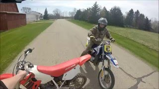 Download Honda Cr 80 vs. Yamaha YZ 80!!! Video