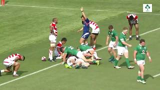 Download Irish Rugby TV: Japan v Ireland - First Test Match Highlights Video
