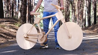 Download How to Make a Wooden Bike for 200 Hours Video
