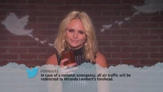Download Country Stars Read Hilarious 'Mean Tweets': Miranda Lambert, Dolly Parton, Little Big Town, and More Video