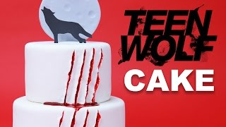 Download TEEN WOLF CAKE - NERDY NUMMIES Video