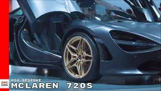 Download MSO Bespoke McLaren 720S At Dubai International Motor Show Video