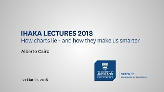 Download Ihaka lectures 2018: Visual trumpery: How charts lie — and how they make us smarter Video