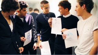 Download One Direction drawing each other! ☆★ Video