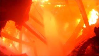 Download Helmet camera video of Smithfield house fire Video