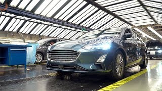 Download Ford Focus production at the Ford Saarlouis plant in Germany Video