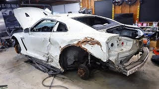 Download Tearing down my Salvaged GT-R to find all the DAMAGE Video