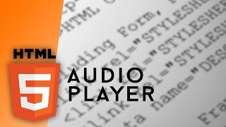Download HTML - Audio Player Video