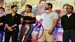 Download Whaat! John Abraham SPANKS Jacqueline Fernandez at the Dishoom trailer launch watch video! Video