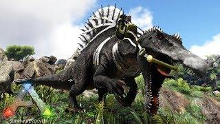 Download #20【ARK】2代目皇帝スピノサウルス!最高のイベント限定漆黒カラー!【Season4】【RAGNAROK】【ARK Survival Evolved】【公式PVE】 Video