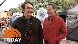 Download Bryan Cranston, James Franco Share Fun Of 'Why Him' On Set With Dylan Dreyer | TODAY Video
