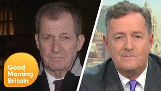 Download Alastair Campbell and Piers Row Over the Election Result   Good Morning Britain Video