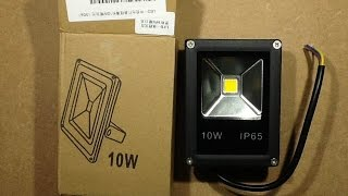 Download A look at some super-cheap mini 10W LED floodlights. Video