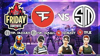 Download FaZe Tfue, FaZe Cloakzy Vs TSM Daequan, TSM Camills 🥊Fortnite Friday🥊Week 9 (Fortnite) Video