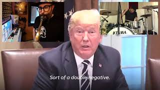 Download Donald Trump's Russia speech on drums, sax and piano Video