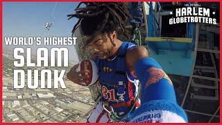 Download World's Highest Slam Dunk | Harlem Globetrotters Video
