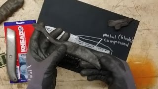 Download Making a knife from epoxy putty Video