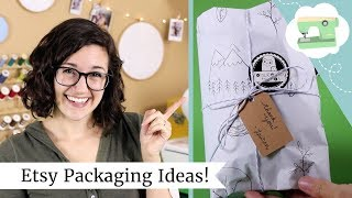 Download Etsy Packaging Ideas - How I package my Etsy orders + holiday shopping gift wrap hack! Video