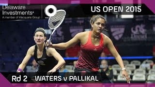 Download Squash: Delaware Investments US Open 2015 - Rd 2 Highlights - Waters v Pallikal Video