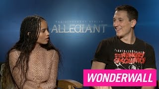 Download Zoe Kravitz teases Miles Teller about his penis size, says she wants bigger boobs Video
