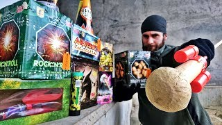 Download 400$ Fireworks ULTIMATE Test (Strongest Firecrackers in Europe) Video