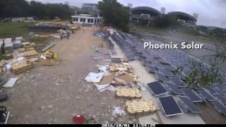 Download World's largest floating solar PV testbed Video